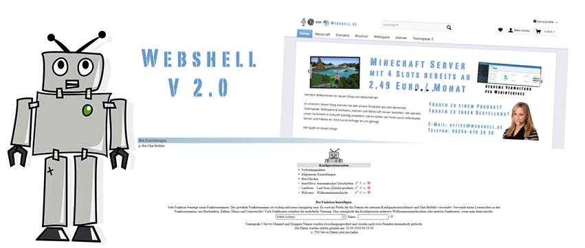 WebShellde Wir Hosten Eure Teamspeak Server - Minecraft server domain erstellen kostenlos